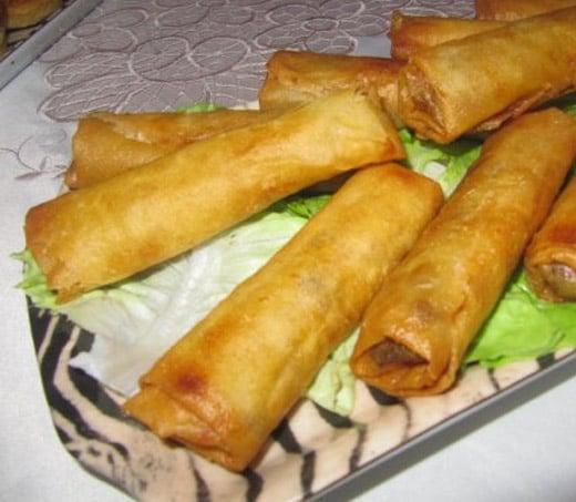 Cigares de viande marocains