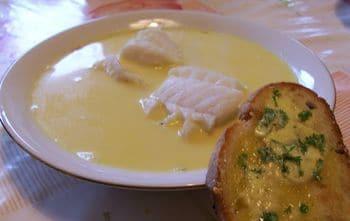 crème au poisson
