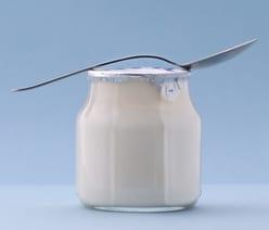 Vasetto di yogurt